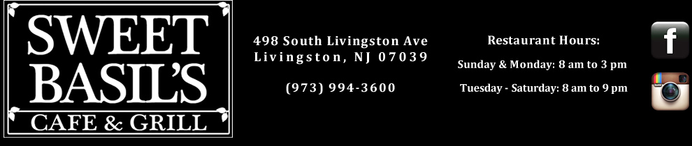 Livingston NJ Restaurant, Essex County